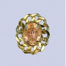 REF.9049 Broche oval